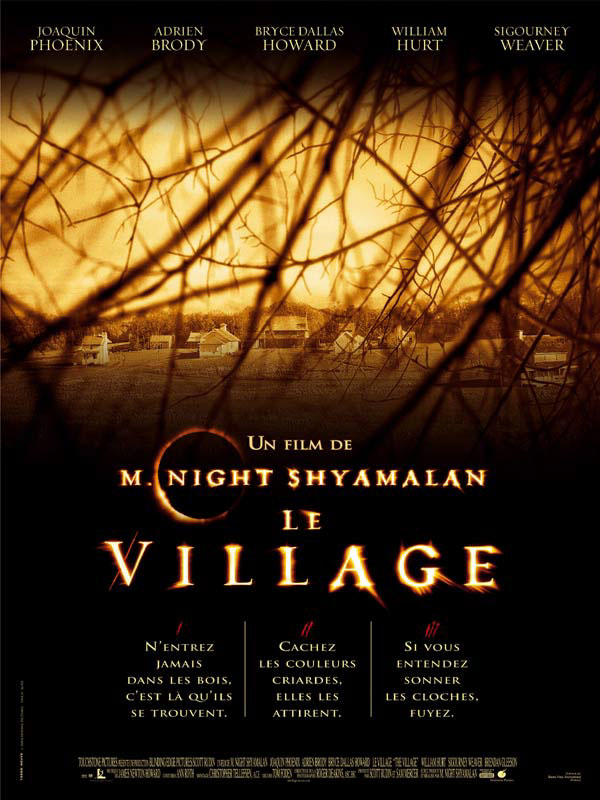 "poster for ""Village, The&quot"