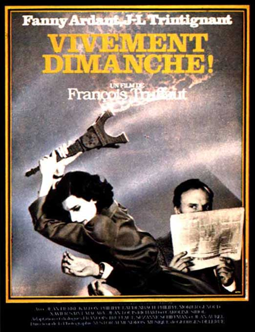 "poster for ""Vivement Dimanche! (Confidentially Yours)"""