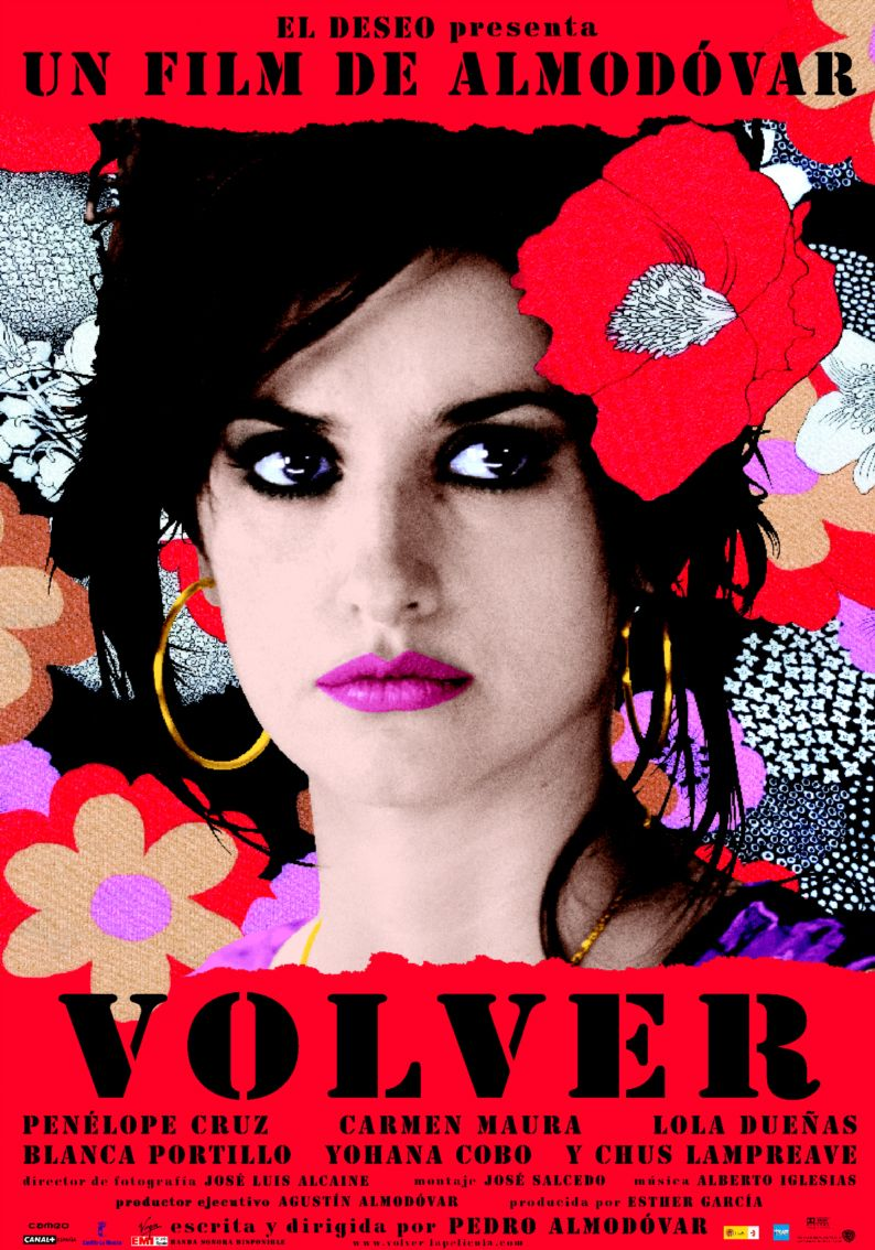 "poster for ""Volver"" by Pedro Almod�var(2006)"