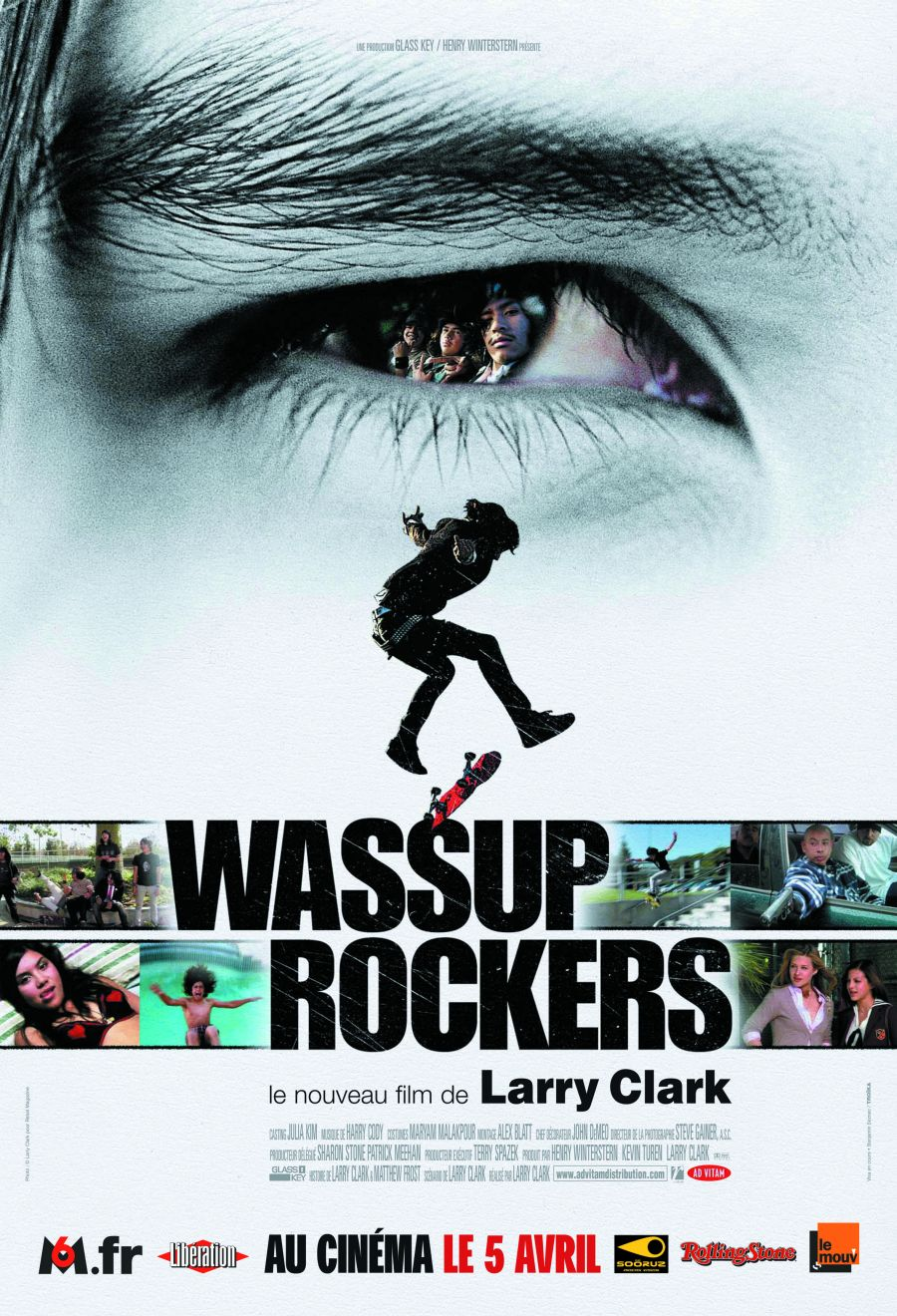 "poster for ""Wassup Rockers"" by Larry Clark(2005)"