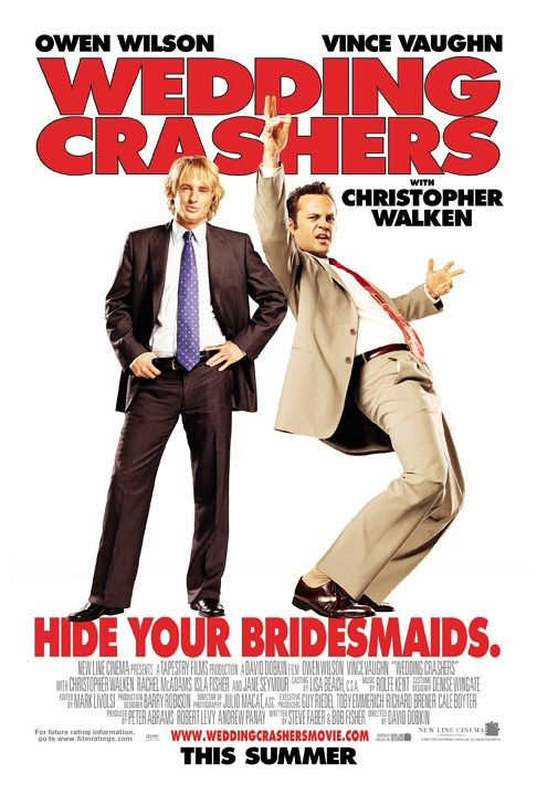 "poster for ""Wedding Crashers&quot"