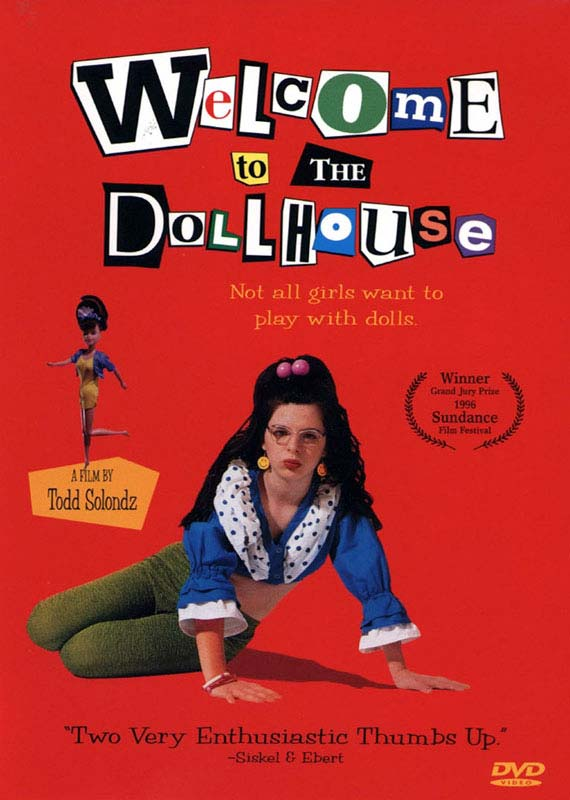 "poster for ""Welcome to the Dollhouse"" by Todd Solondz(1996)"