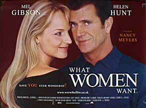"poster for ""What Women Want"""