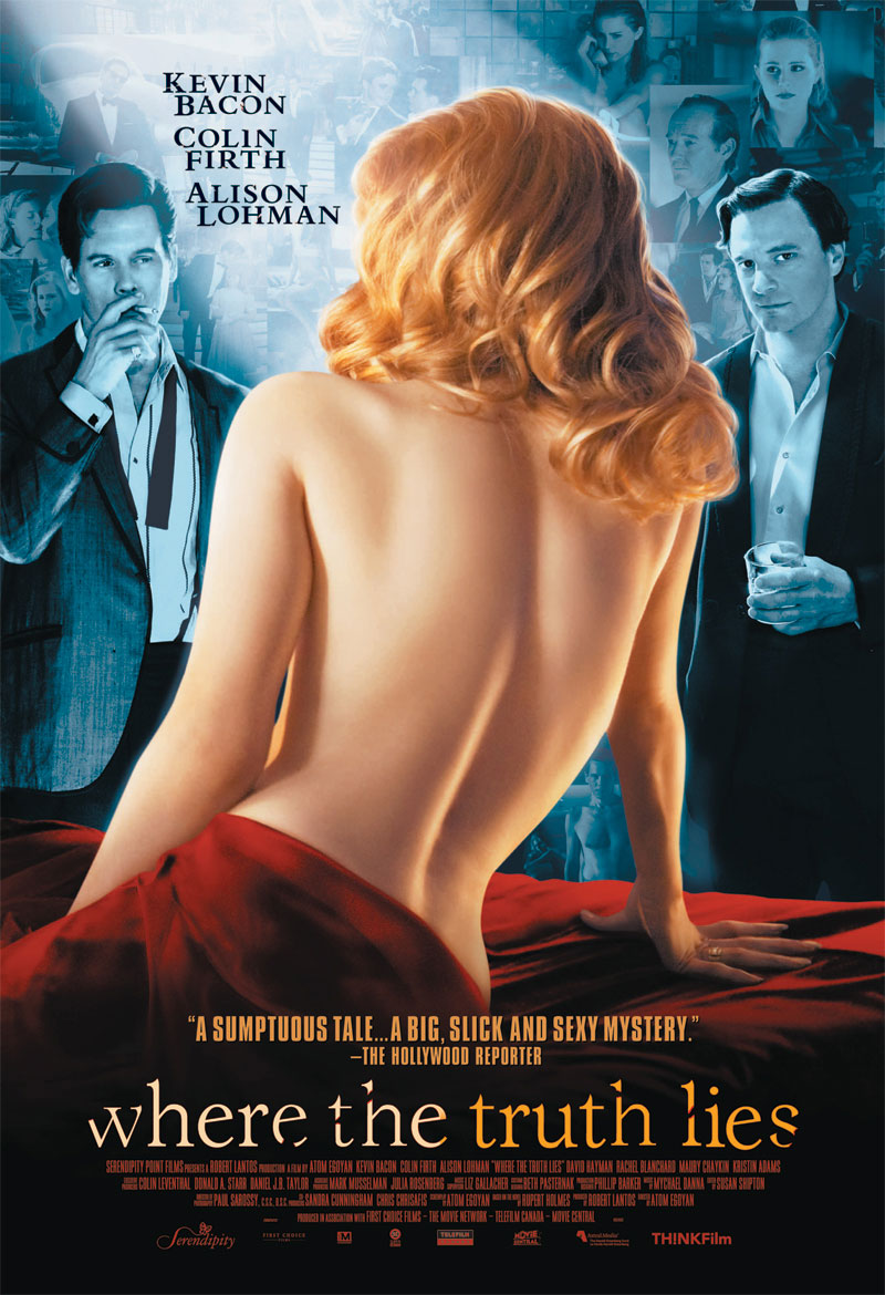 "poster for ""Where the Truth Lies"" by Atom Egoyan (2005)"