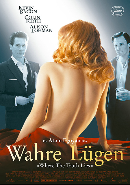 "poster for ""Where the Truth Lies&quot"