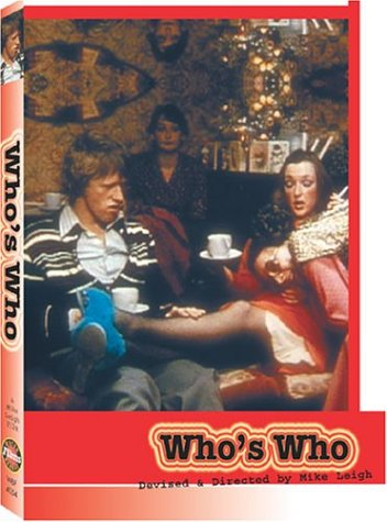"poster for ""Who's Who"" by Mike Leigh(1979)"