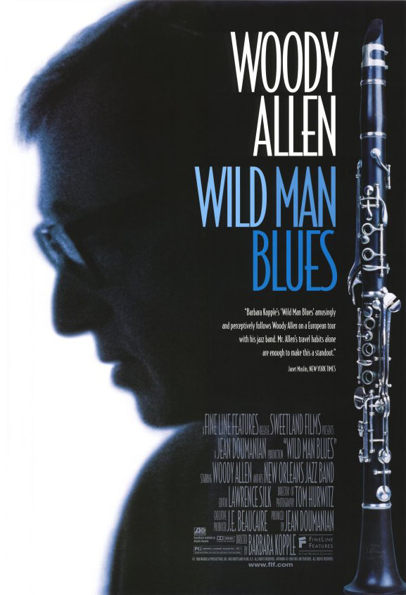 "poster for ""Wild Man Blues"" by Barbara Kopple(1997)"