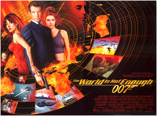 "poster for ""The World is not Enough"""