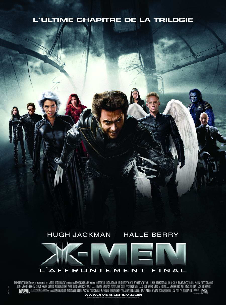 X men 3 movie poster