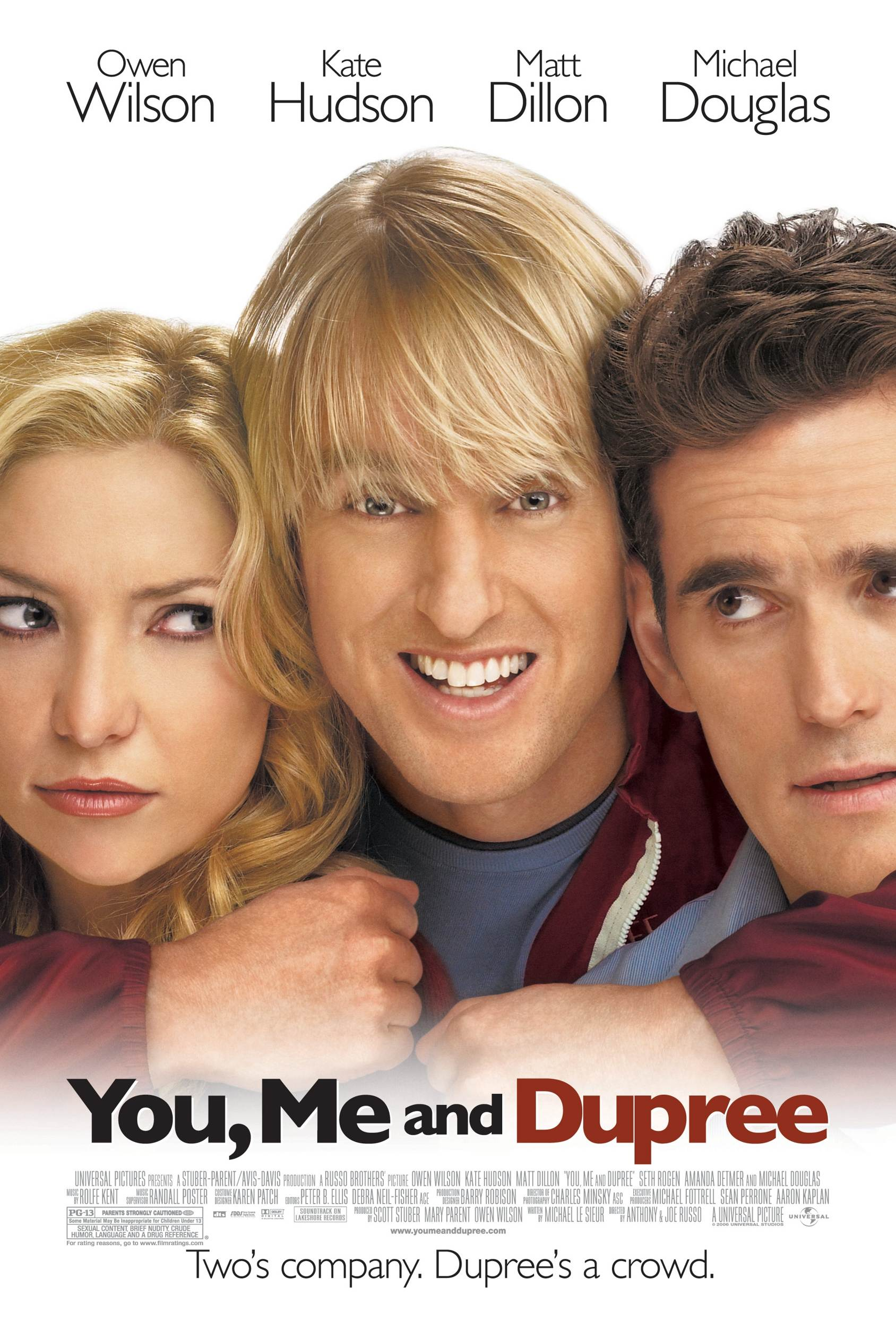 "poster for ""You, Me and Dupree"" by Anthony Russo 
