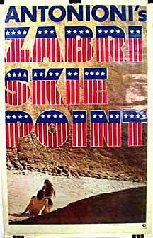 "poster for ""Zabriskie point&quot"
