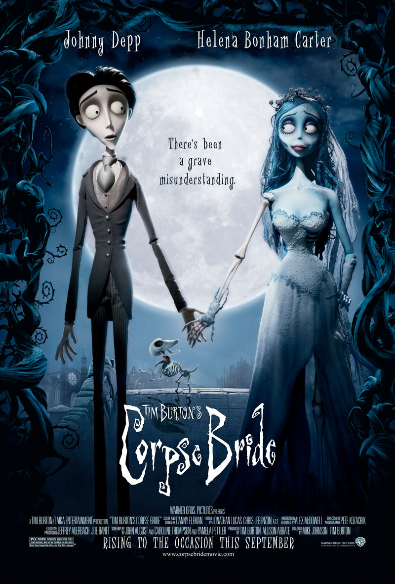 "poster for ""Corpse Bride&quot"