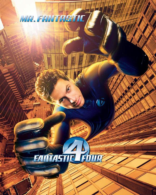 "poster for ""Fantastic Four"""