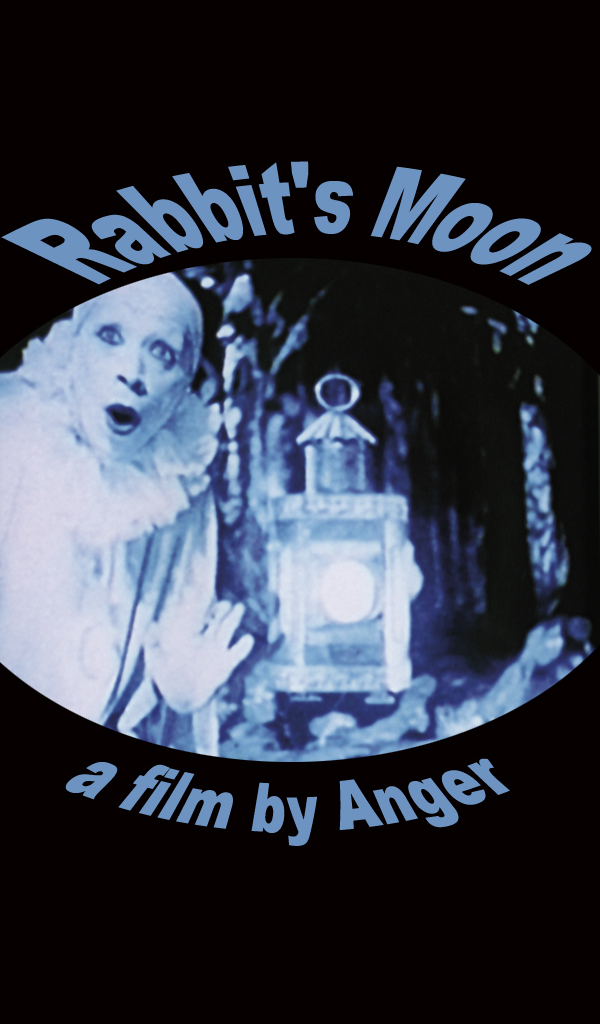 "poster for ""Rabbit's Moon"" by Kenneth Anger(1950)"