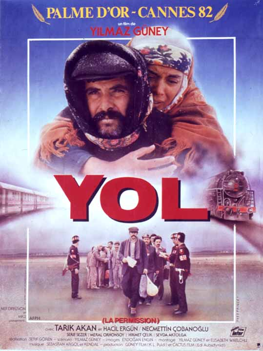 "poster for ""Yol"" by Serif G�ren 